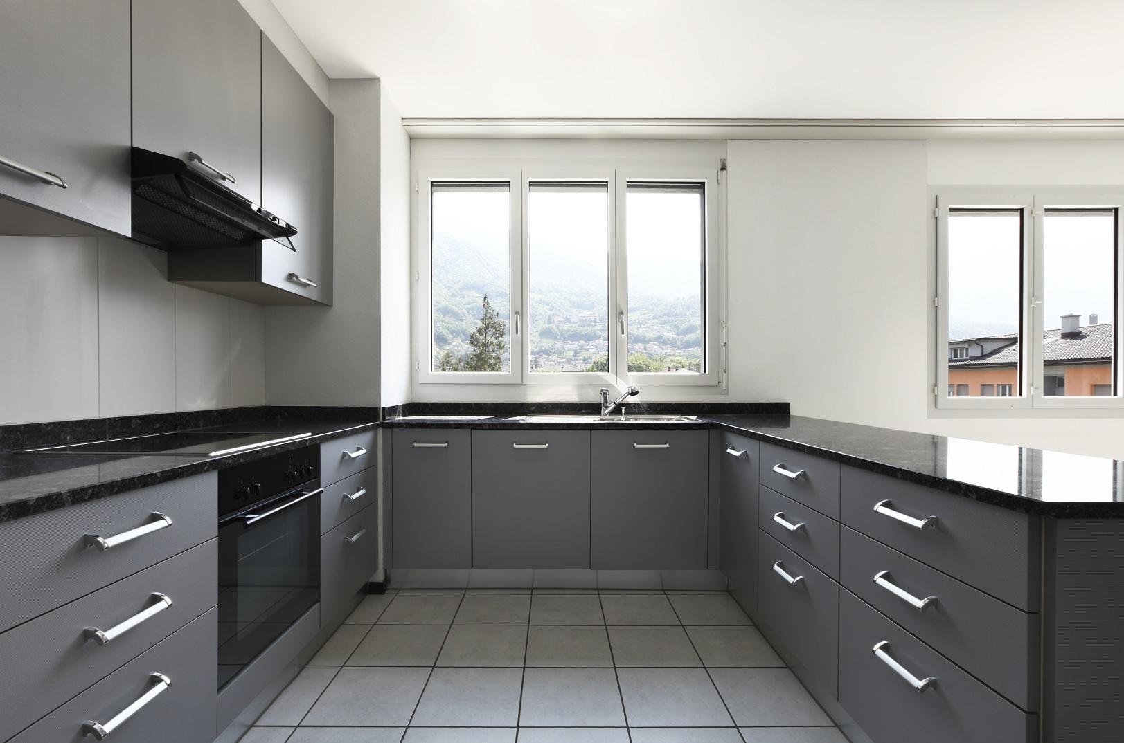 Meble kuchenne szafki porta lis for Cocinas en u modernas
